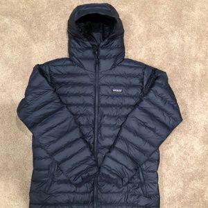 Patagonia Down Sweater Hoody, NWOT, Men's L